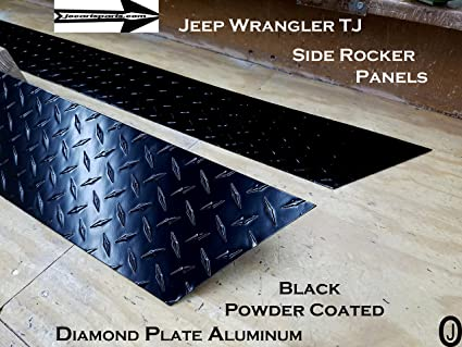 Can You Powder Coat Aluminum >> Amazon Com J O Carts Parts Jeep Tj Wrangler 5 3 4 Powder