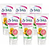 St Ives Scrub Even & Bright 6 Ounce Pink Lemon-Orange (177ml) (2 Pack)…