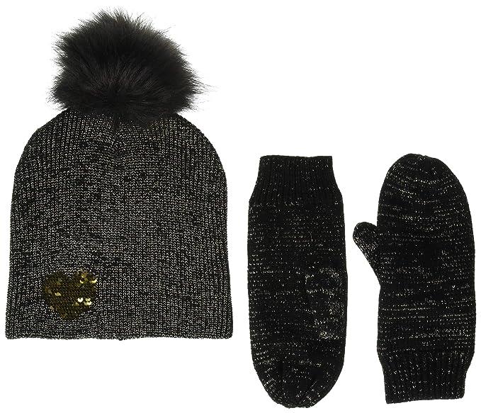 f8ce691373193 Betsey Johnson Women s Heart Hat Glove 2 Piece Set