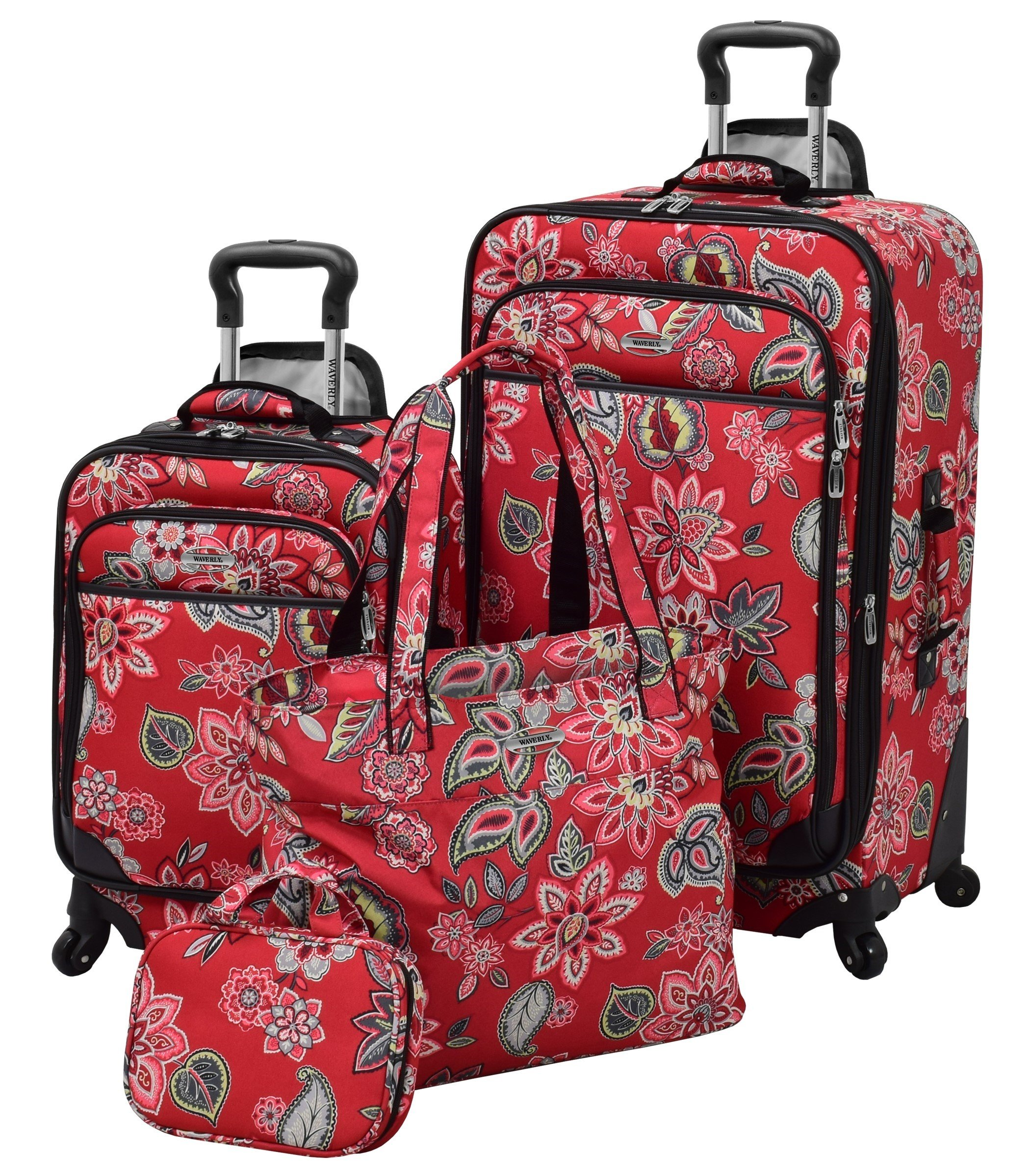 Waverly Boutique 4 Piece Set, Cherry Floral by Waverly (Image #1)