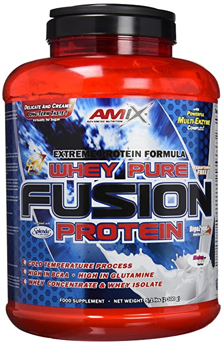 Amix Whey Pure Fusion Proteínas - 2300 gr_8594159534353