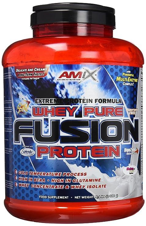 Amix Whey Pure Fusion 2,3 kg Vainilla: Amazon.es: Salud y cuidado personal