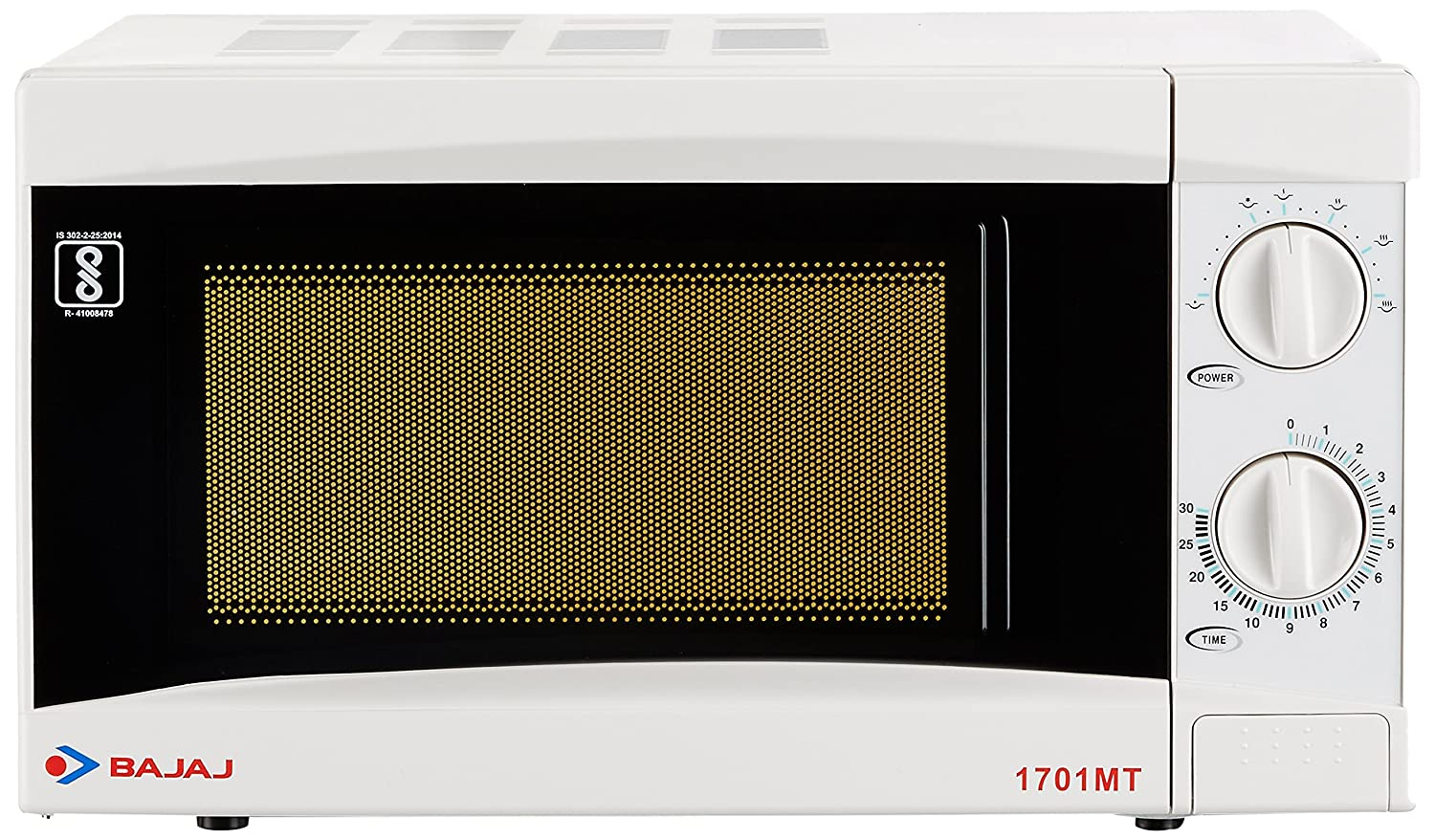 Bajaj 17 Litres Solo Microwave Oven with Mechanical Knob