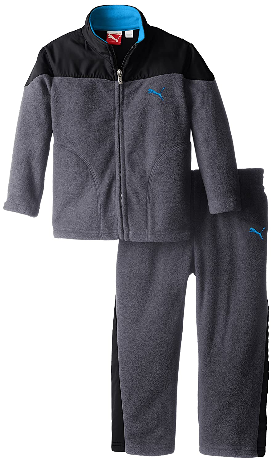 PUMA Little Boys' Curve Polar Fleece Set Puma Boys 2-7 PBH44092
