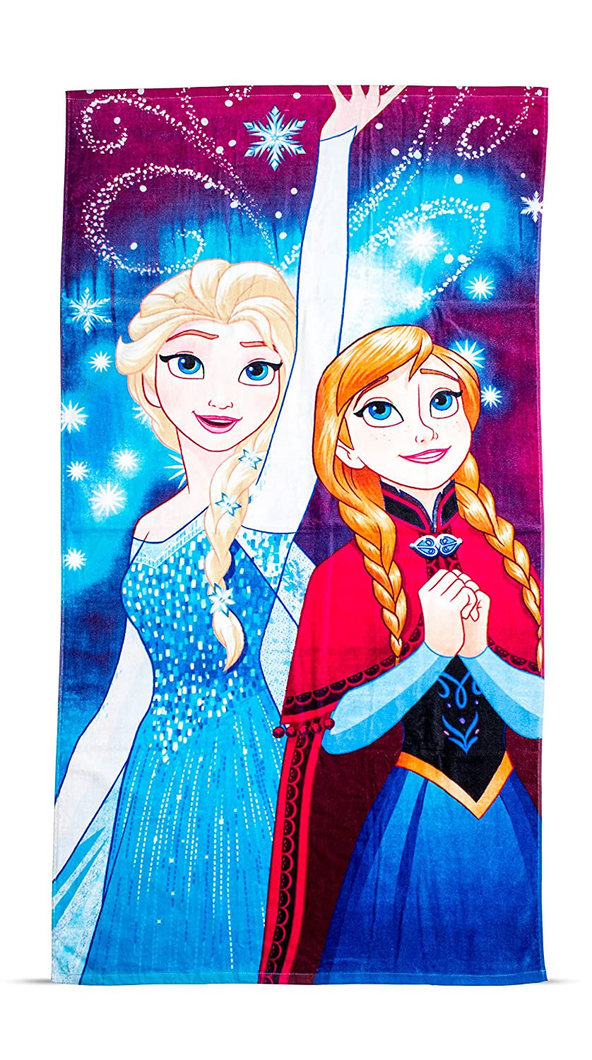 Disney Frozen Lights Towel Character World DFRLHTTW001UK
