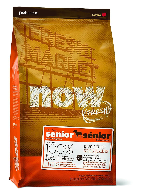 Now Fresh Grain Free Senior Dog Food Bag, 6-Pound