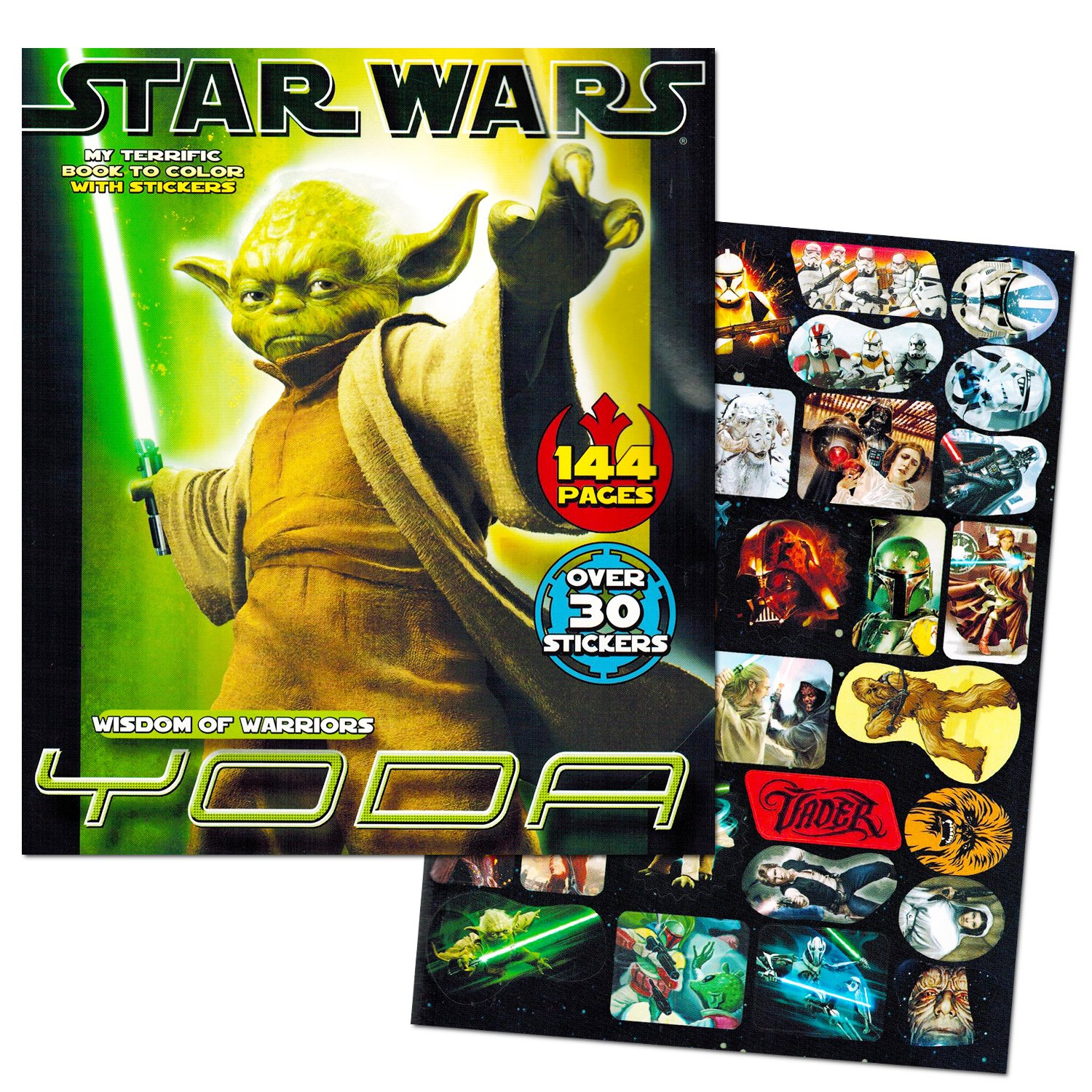 Amazon Classic Star Wars Giant Coloring Book With Stickers 144 Pages Toys Games