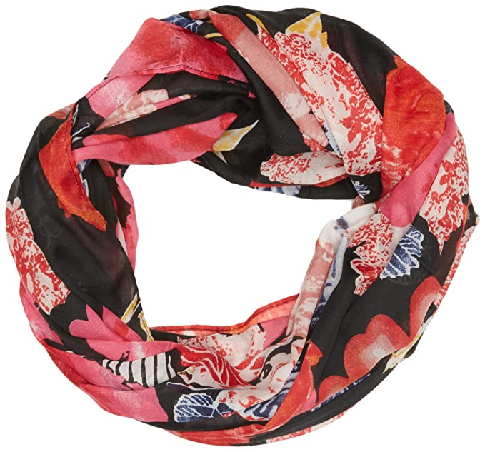 PIECES Damen Schal PCMAGS Tube Scarf PB, Mehrfarbig Black, One Size ... 5512a880201