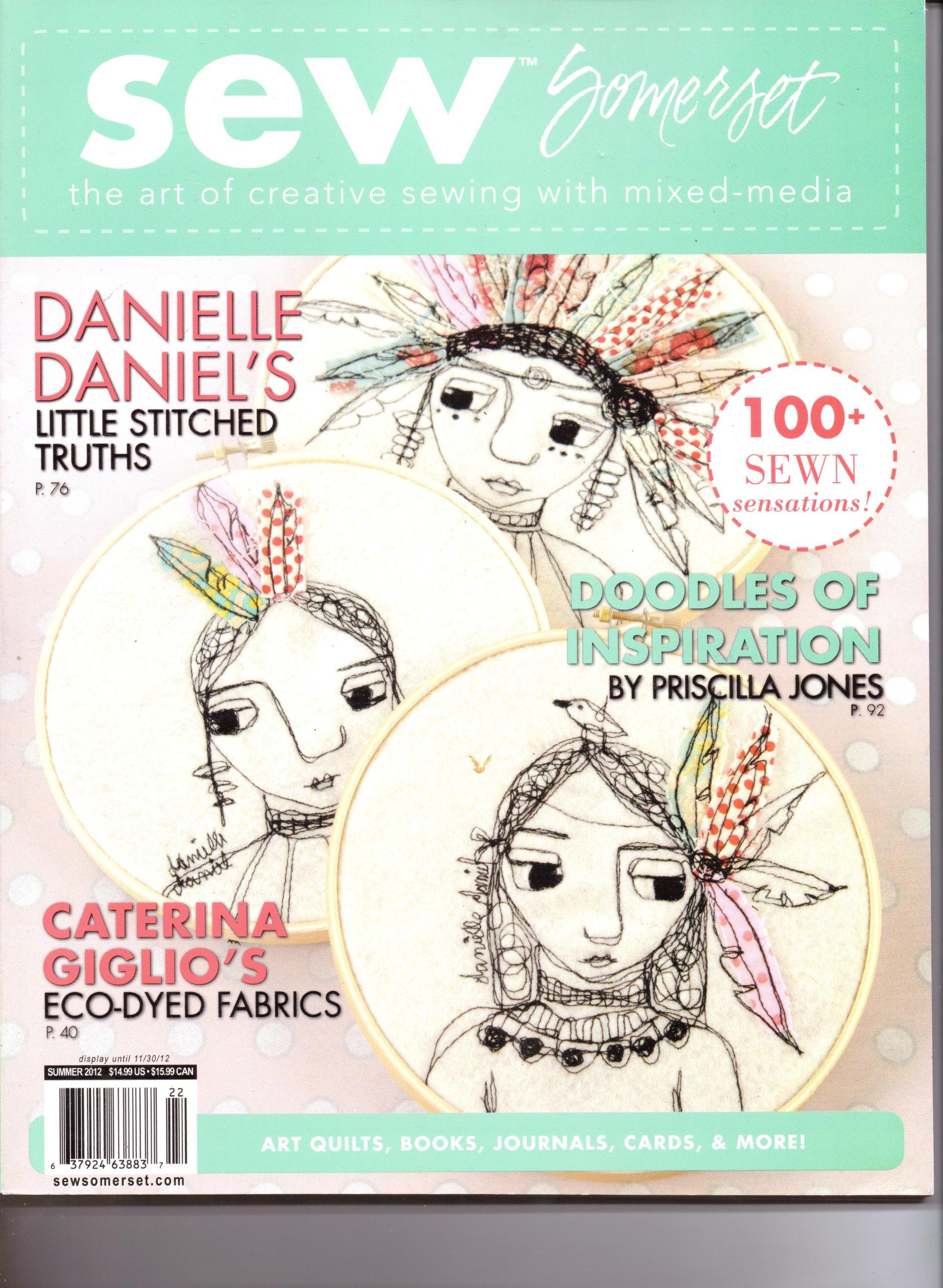 Sew Somerset (Summer 2012, Volume 6 # 1) pdf epub
