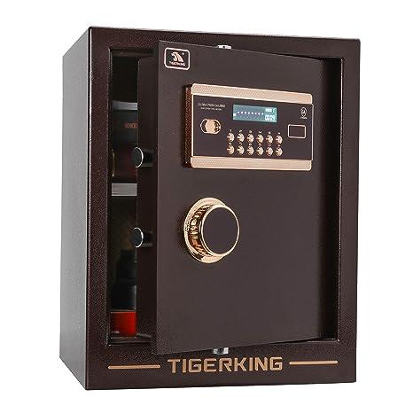 Amazon.com: Caja de seguridad digital de aleación de acero ...
