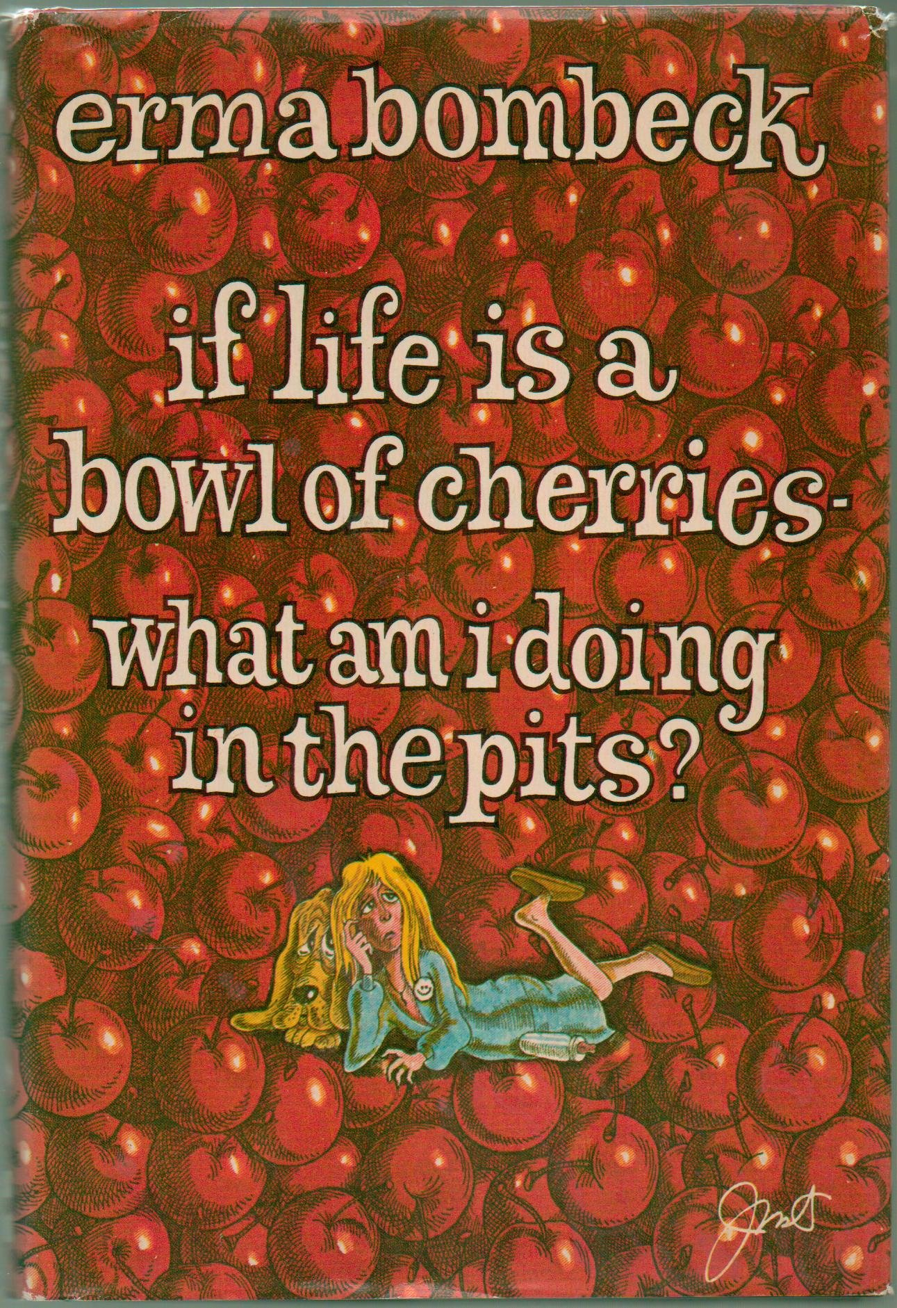 If Life Bowl Cherries Hardcover product image