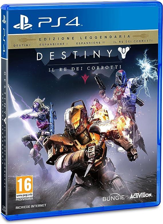 Destiny: Il Re Dei Corrotti: Amazon.es: Videojuegos