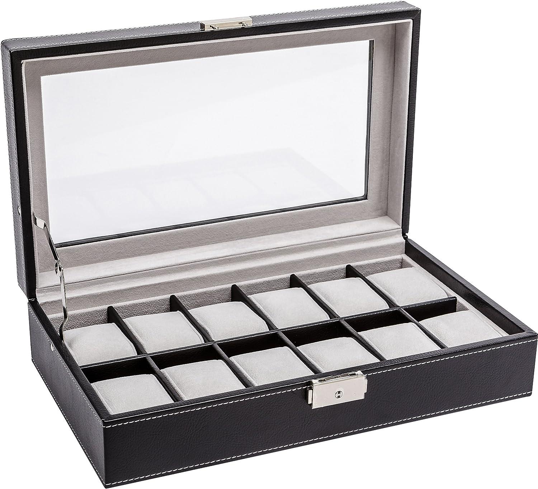 LA ROYALE CLASSICO 12 cajas de reloj: LA ROYALE: Amazon.es: Relojes