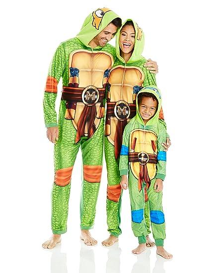Amazon.com: Nickelodeon Ninja Turtles pijamas de familia de ...