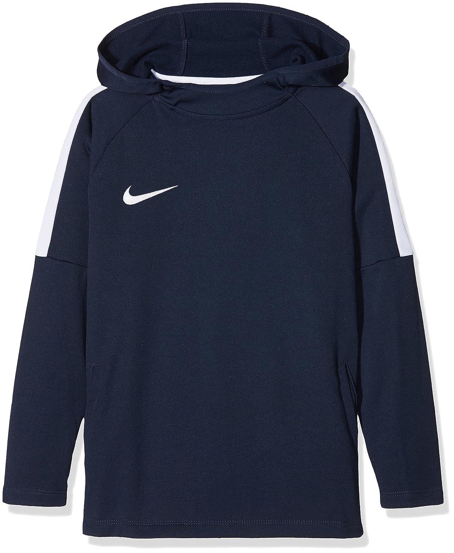 Nike Dry-FIT Academy - Sudadera de fútbol con capucha para niños   Amazon.es  Deportes y aire libre dc2f5cd6f4a06