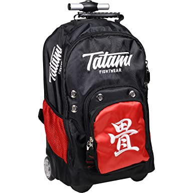 Amazon.com: Tatami – Mochila con ruedas, color negro: Clothing