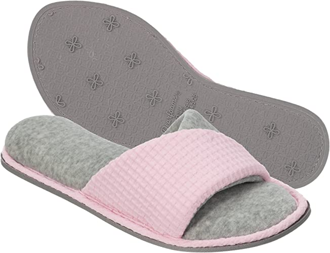 Dearfoams Women's Quilted Terry Clog