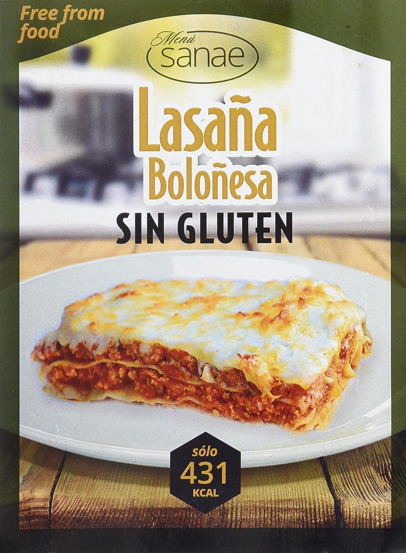Menú Sanae Lasaña Boloñesa - 4 Paquetes de 300 gr - Total ...