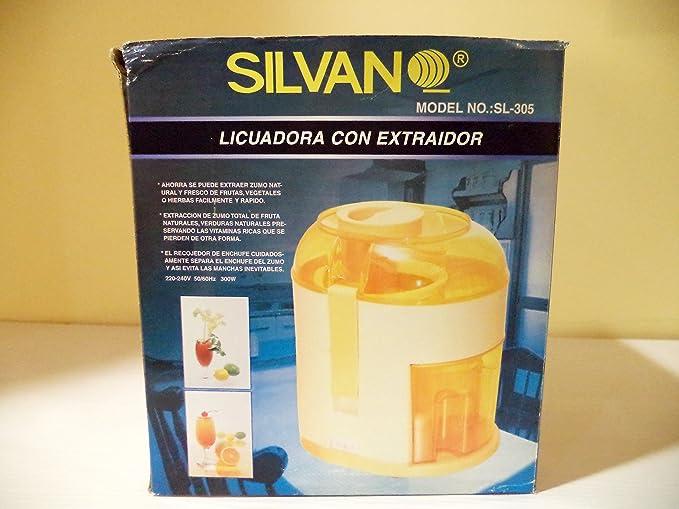 Licuadora de frutas. Potencia: 300 W.. Alimentación: 220/240 V.: Amazon.es