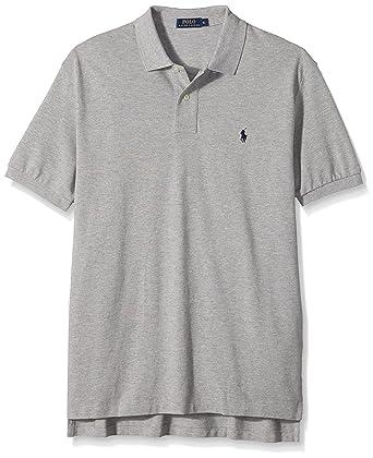 Ralph Lauren - Polo Homme, Gris, L  Amazon.fr  Vêtements et accessoires 6a05a94cc91