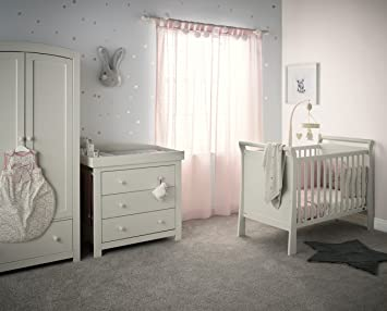 Mamas Papas Mia Sleigh 2 Nursery Furniture Set With Cot Dresser