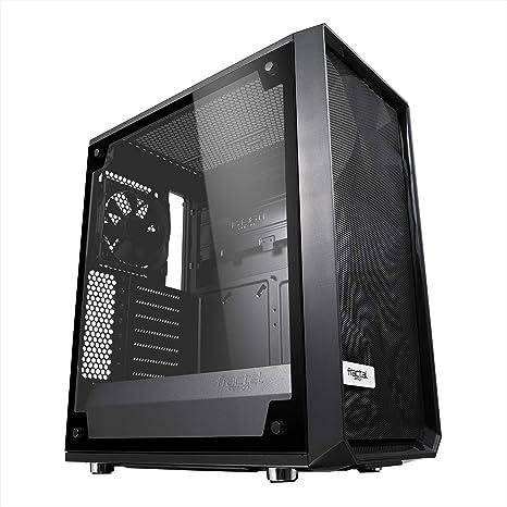 Fractal Design Meshify C - TG Midi-Tower Negro, Transparente ...