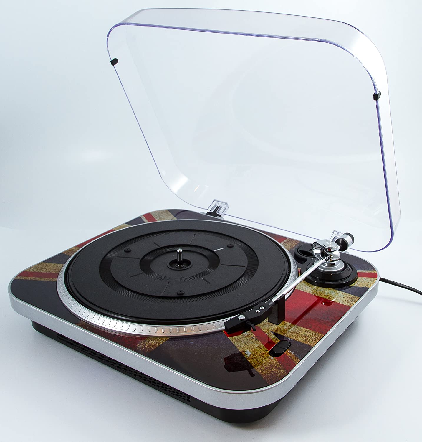 Gpo Jam Record Player Vinyl To Pc Turntable Built In