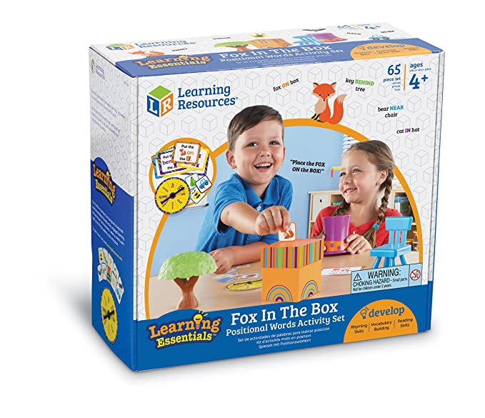 Learning Resources Learning Essentials Fox in The Box Positional Words Activity