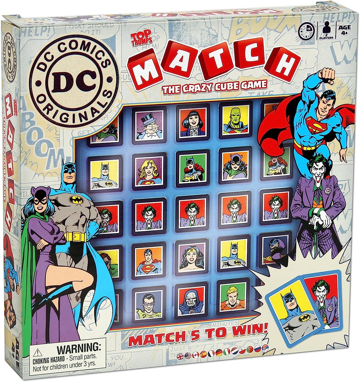 Top Trumps- DC Comics Match Juego de Mesa, (Winning Moves 001748 ...