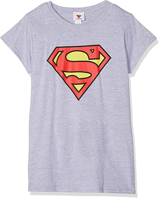 Superman Logo T-Shirt Donna