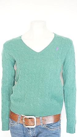 Ralph Lauren Kimberly Damen Pullover, V- Ausschnitt Mit Wolle Kaschmir  Mischung (L 9eac5a8bf0