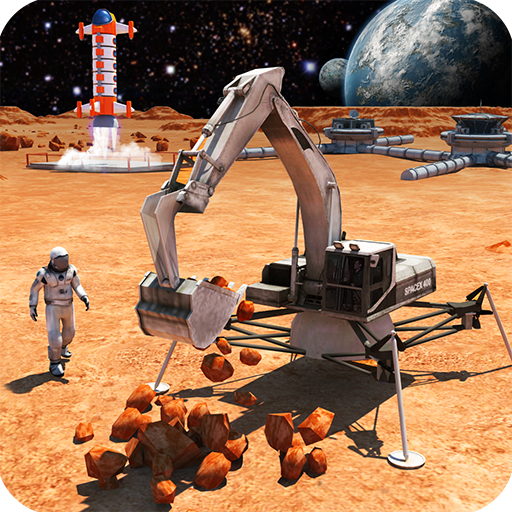 Space Station Construction Simulator 2018: Planet Mars Colony Survival City Building Games For Free ()