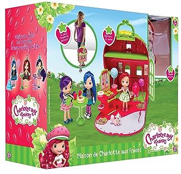 linge de lit charlotte aux fraises Bandai   12330   Maison De Poupée   Charlotte Aux Fraises   15 Cm  linge de lit charlotte aux fraises