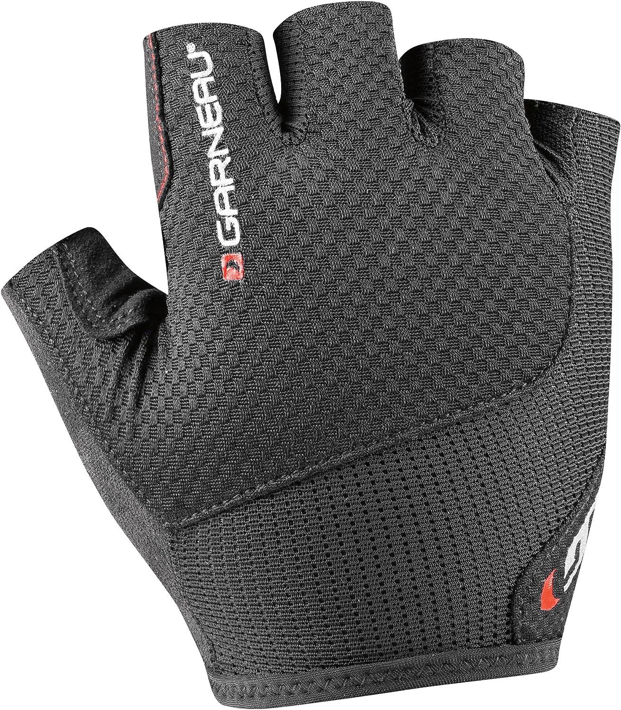 Padded Half Finger Bike Gloves Louis Garneau Mens Nimbus Evo Breathable