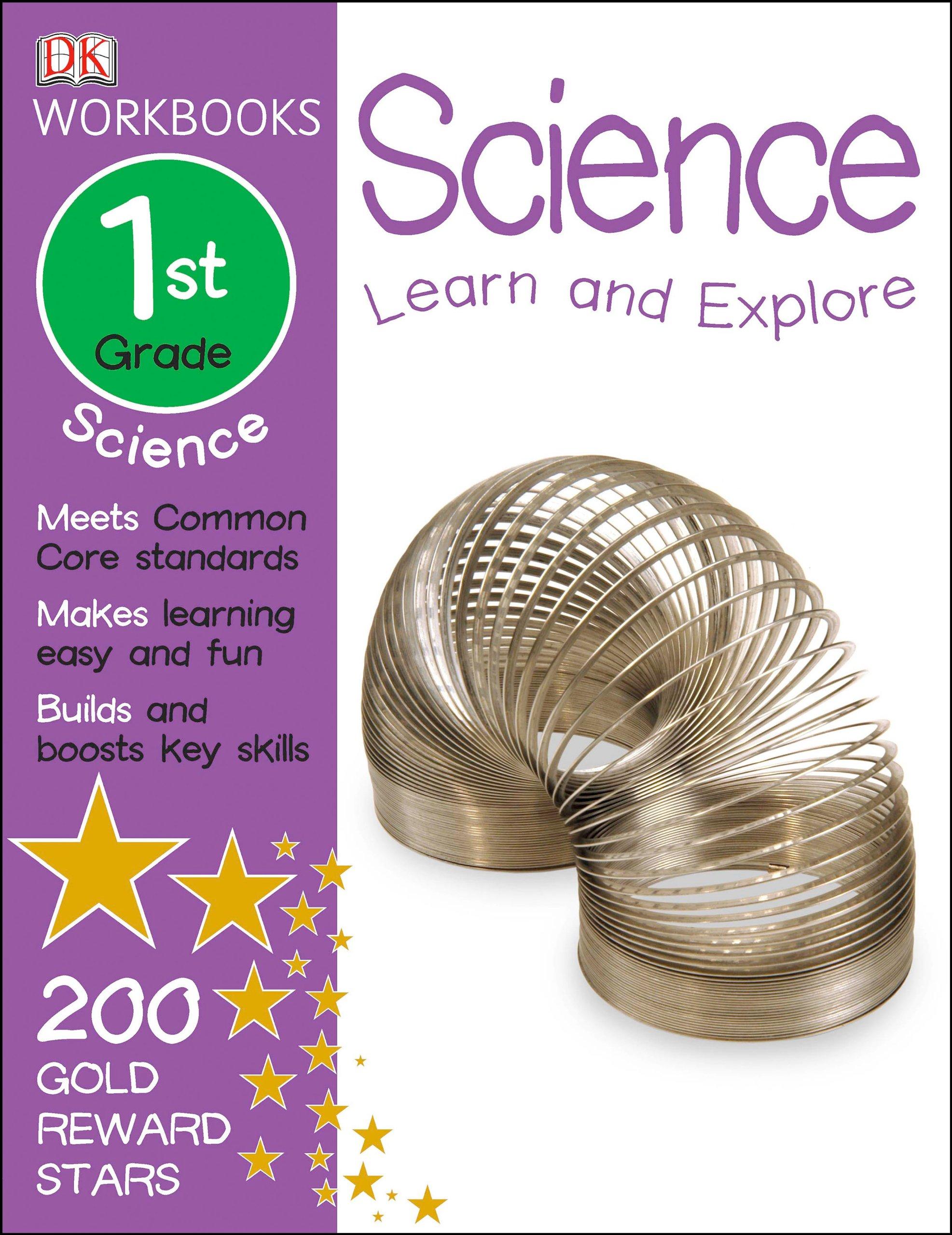 math worksheet : dk workbooks science first grade dk publishing 9781465417282  : First Grade Workbooks