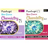 Pradeep's New  Course Chemistry for Class 11 - 2018-2019 Session (Set of 2 Volumes)