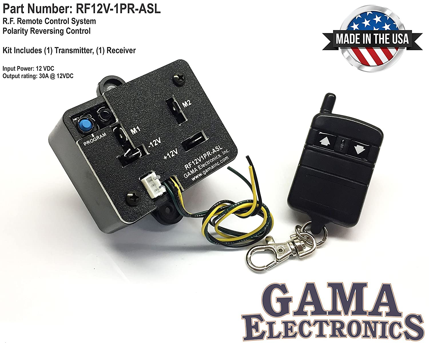 Rf Remote Control Reverse Polarity 12vdc Motor Radio Controlled Electric Switch R C With Auxiliary Input Automotive
