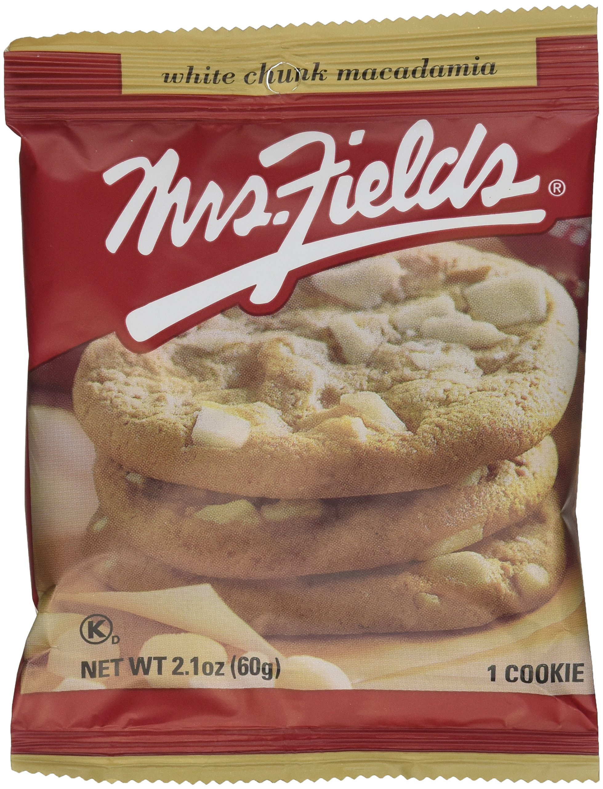 75fd55615a8 Mrs. Fields Jumbo Individually Wrapped White Chunk Macadamia Cookies (pack  of 12)