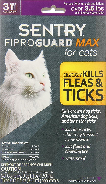 Purple FiproGuard 6-Month Cats Ovr 8 Weeks