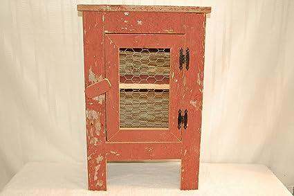 Amazon Barnwood Cabinet With Chicken Wire Front Door Measures