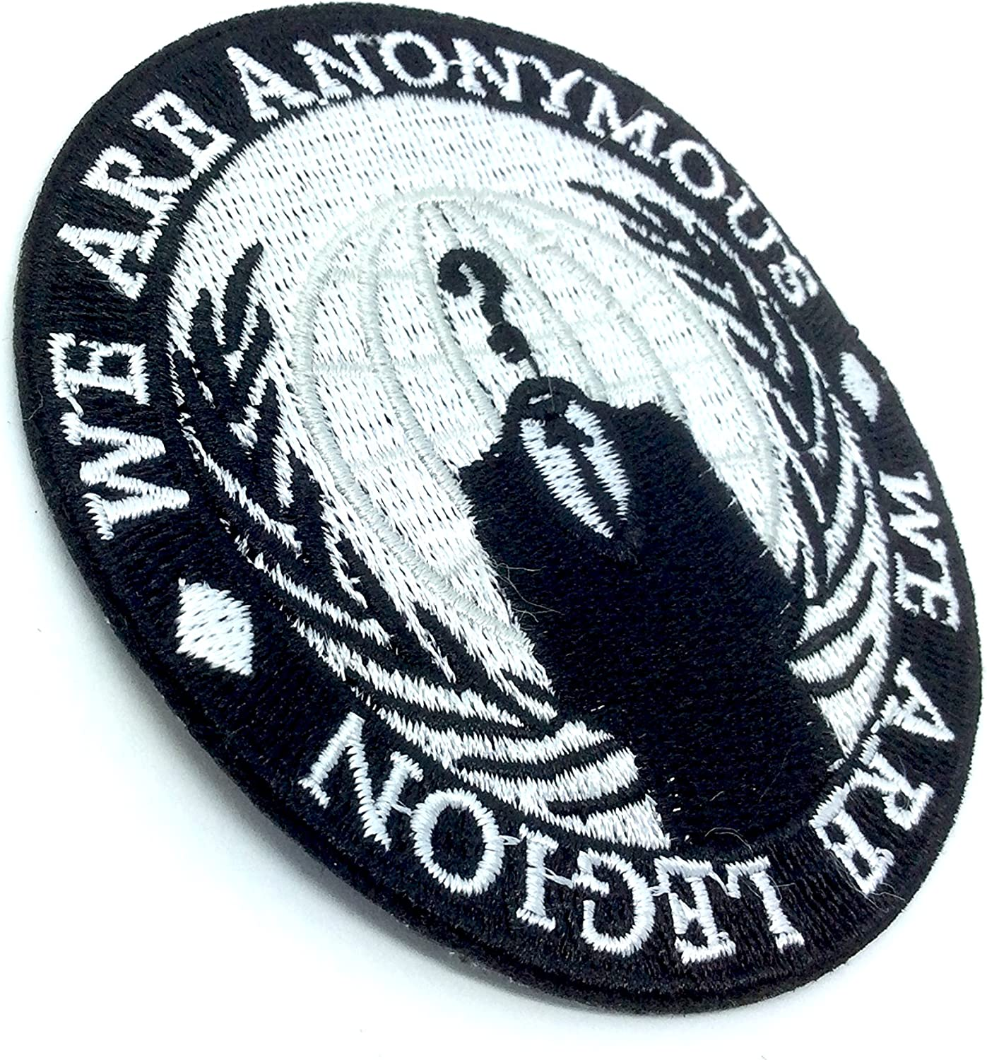 We are Anonymous We are Legion Fer Coudre Patch Brod/é Cosplay