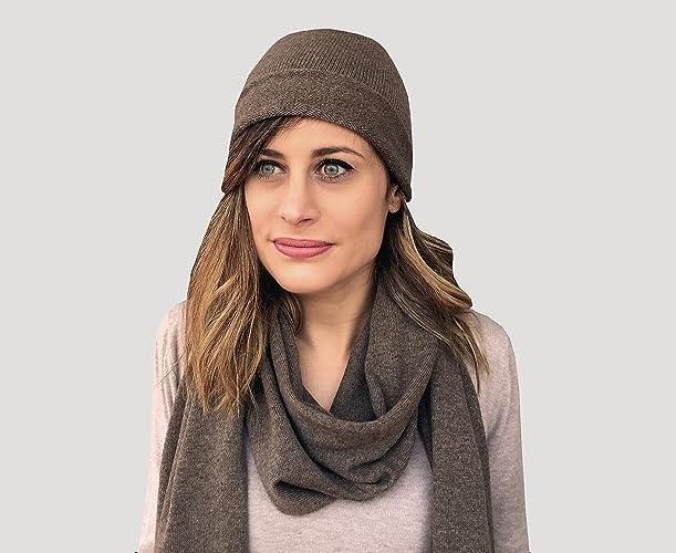 02097cf5cad0d gorro para mujer gorro de cashmere gorro y bufanda bufanda de cashmere para  mujer set gorro