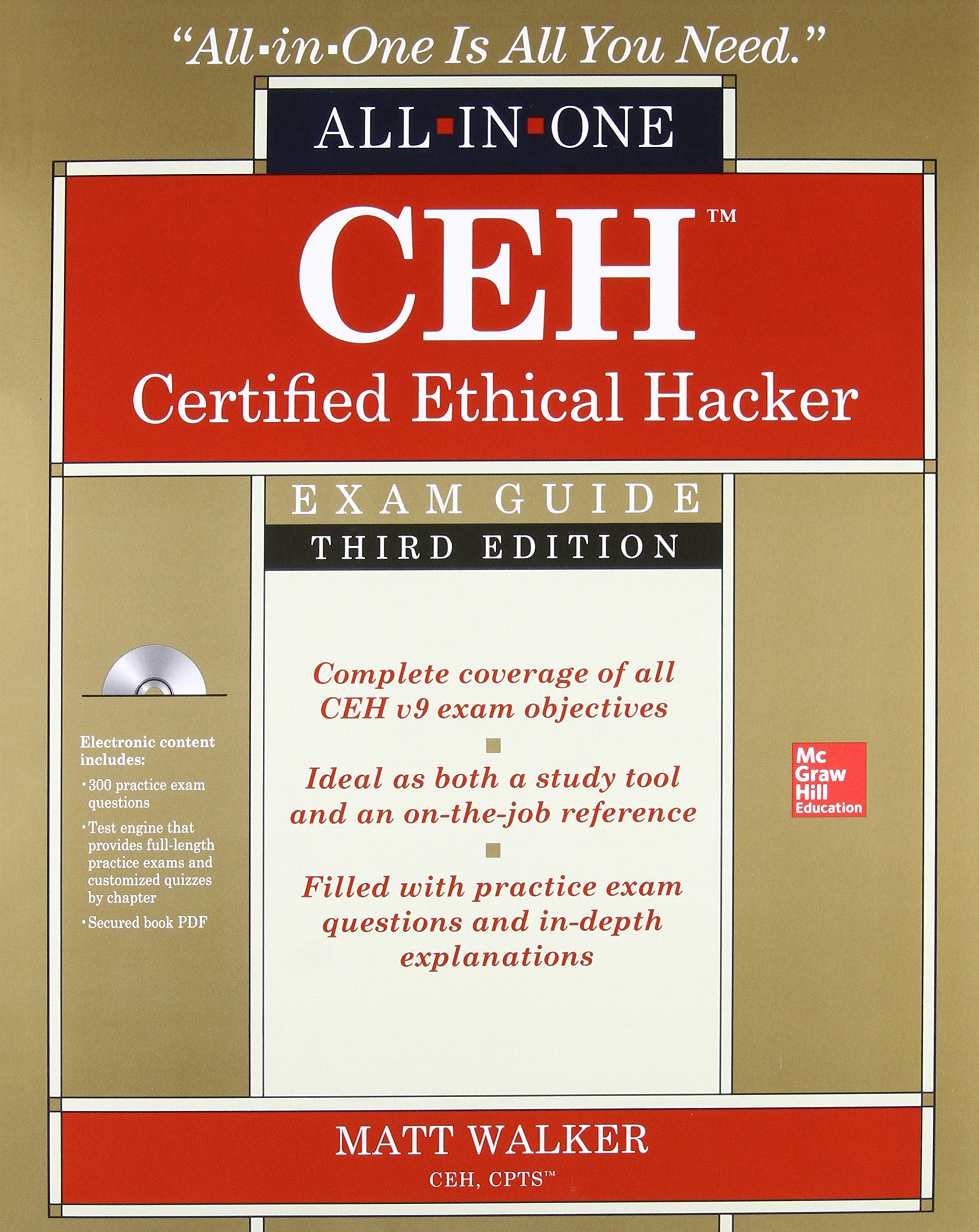Ceh Certified Ethical Hacker All In One Exam Guide Third Edition