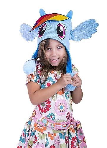 Amazon.com  My Little Pony Flipeez Hat - Rainbow Dash  Clothing 06dbed4022a5