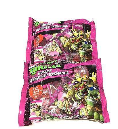 Amazon.com : Teenage Mutant Ninja Turtles Gummy Friendship ...