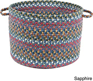 product image for Rhody Rug Charisma Multi-Colored 18x12-inch Basket by Blue