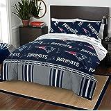 Amazon Com Nfl New England Patriots Bedding Set Twin Home Kitchen