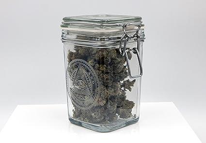 Genial Dope Jars   Herb Storage, Swing Top Stash Jar   With Dope Designs Deep  Etched