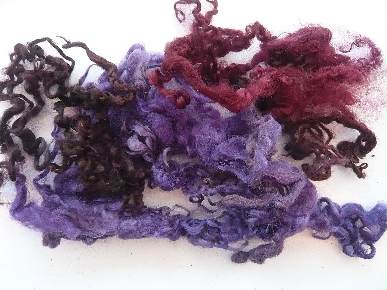 Heidifeathers Curly Wool Locks (Autumn)