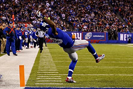 4e5c17ce885 Image Unavailable. Image not available for. Color  New York Giants NYG ODELL  BECKHAM JR Glossy Photo Poster